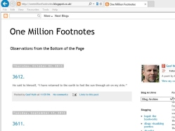 thumbnail image of One Million Footnotes