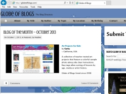 thumbnail image of Globe of Blogs