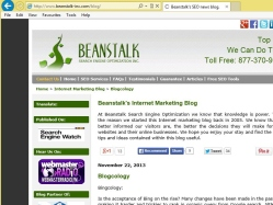 thumbnail image of Beanstalk's SEO blog.
