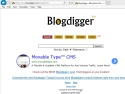 Small Screenshot picture of blogdigger