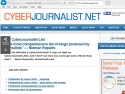 Small Screenshot picture of Cyberjournalist