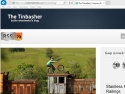 Small Screenshot picture of The Tinbasher Blog
