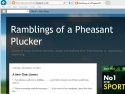 Small Screenshot picture of Ramblings of a Pheasant Plucker