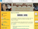 Small Screenshot picture of Blogging Blog