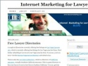 Small Screenshot picture of Internet Marketing for Lawyers