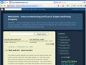 Small Screenshot picture of Webulletin - Internet Marketing and Search Engine Marketing Company