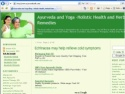 Small Screenshot picture of Ayurveda and Yoga Blog