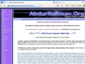 Small Screenshot picture of AbdurRahman.org - Autehntic Islamic Information - Home |Tawheed  | Aqeeda| Faith |Tahara | Salah
