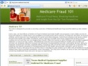 Small Screenshot picture of Medicare Fraud 101