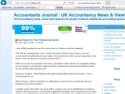 Small Screenshot picture of Accountants Blog