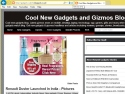 Small Screenshot picture of Cool new gadgets and gizmos- Gadgets watch blog