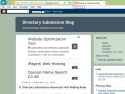 Small Screenshot picture of Directory Submission Services Blog