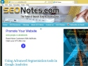 Small Screenshot picture of SEO tips, articles resources for noobs.