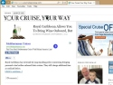 Small Screenshot picture of Your Cruise Your Way Cruise Blog-Best of Cruise Blogs