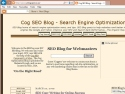 Small Screenshot picture of Cog SEO Blog - Search Engine Optimization