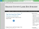 Small Screenshot picture of Orange County Lasik Eye Surgery