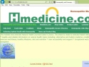 Small Screenshot picture of Homeopathic Medicine Blog