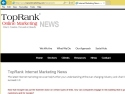 Small Screenshot picture of TopRank Online Marketing News Blog