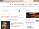 Small Screenshot picture of The Business Viking Blog  - -  A Business Resource