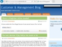 Small Screenshot picture of Management blog